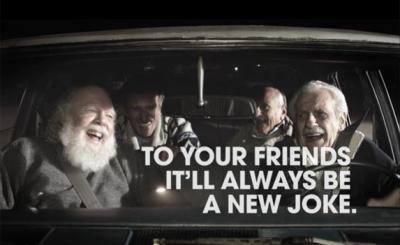 Phòng chống ung thư nơi người già - Joke