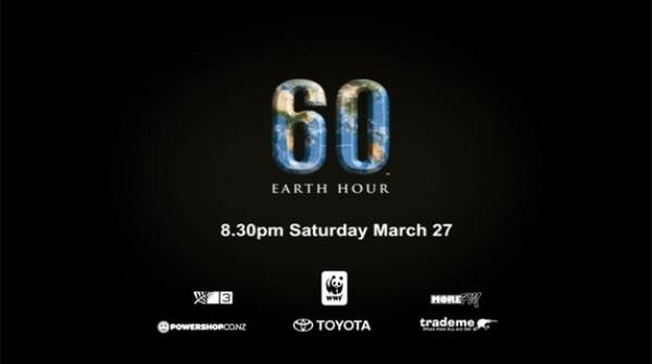 Hưởng ứng giờ trái đất - chiến dịch được người New Zeland yêu thích