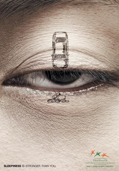 Dừng lái xe khi buồn ngủ - Don't Drive Sleepy